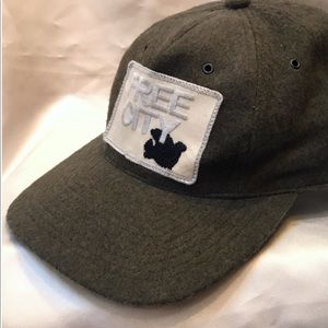 Free City felted wool trucker hat - RARE!